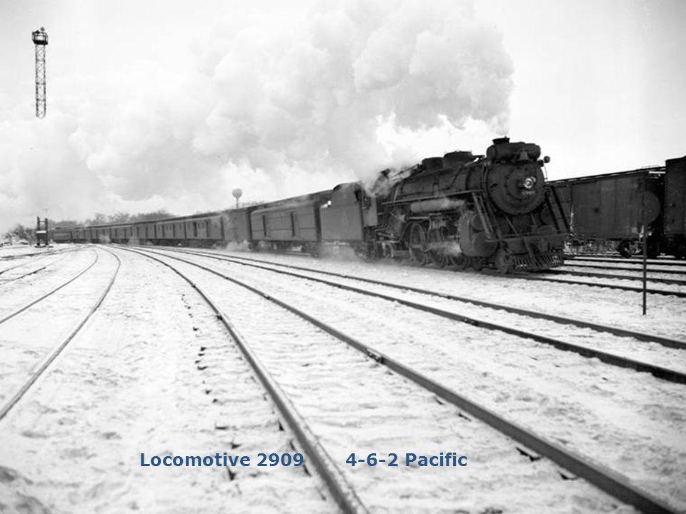 Locomotive 2909 4-6-2 Pacific