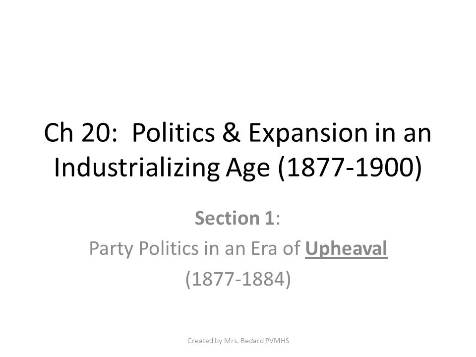 Political Machines & Party Bosses Machine Positives.