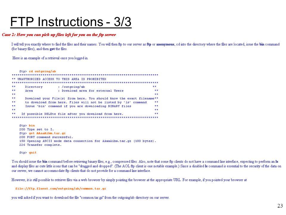 23 FTP Instructions - 3/3