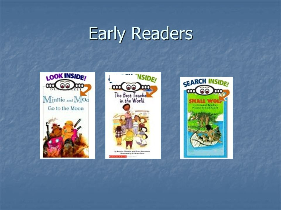 Early Fluent Readers Oral Reading and Use of Strategies Reads in longer phrases most of the time; adequate rate Reads in longer phrases most of the time; adequate rate Adjusts intonation to convey meaning; attends to punctuation Adjusts intonation to convey meaning; attends to punctuation At difficulty, uses efficient cues to problem-solve unknown words most of the time At difficulty, uses efficient cues to problem-solve unknown words most of the time Self-corrects most significant miscues quickly Self-corrects most significant miscues quickly