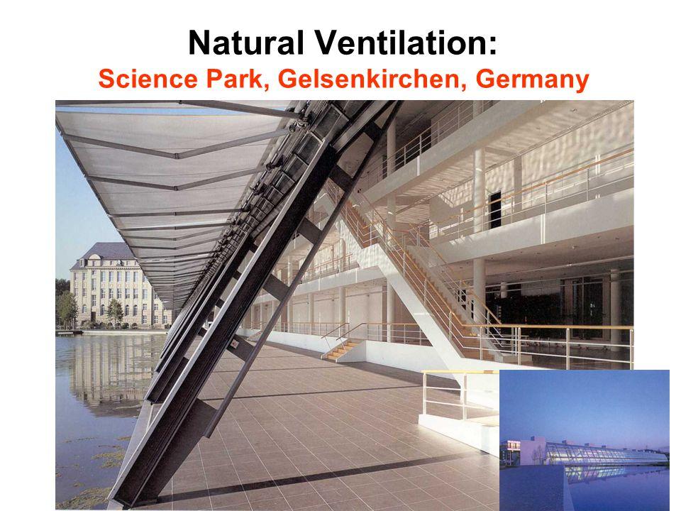 Natural Ventilation: Science Park, Gelsenkirchen, Germany