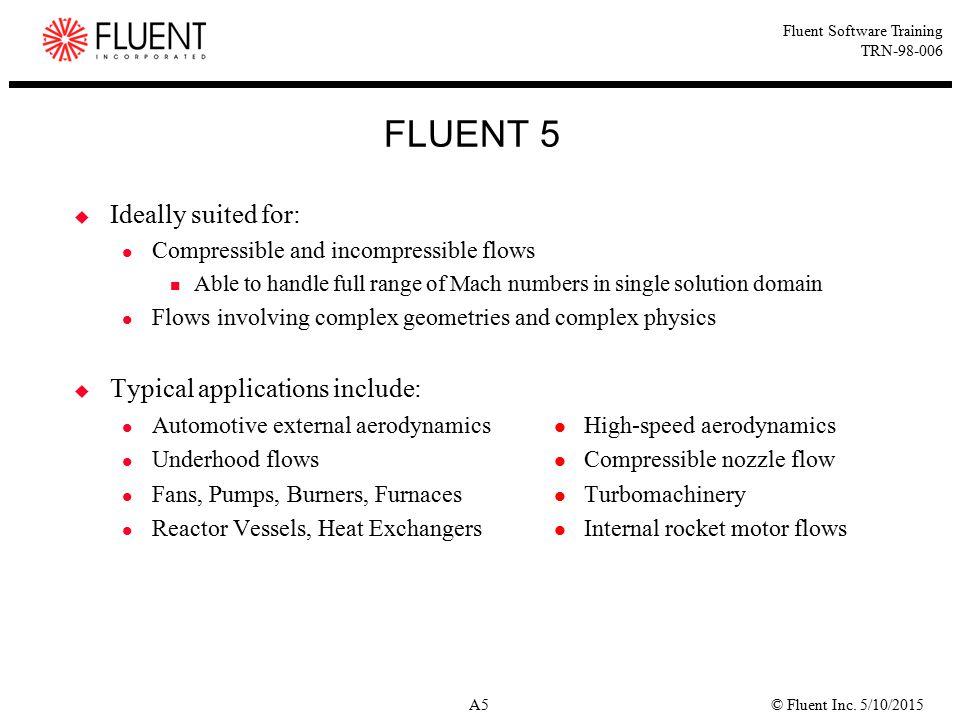 © Fluent Inc.