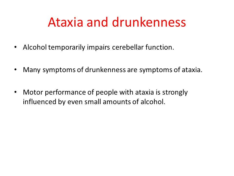 Ataxic Dysarthria – Etiologies (Duffy 2005) Mainly hereditary e.g. MS e.g. Alcoholism, Valium use