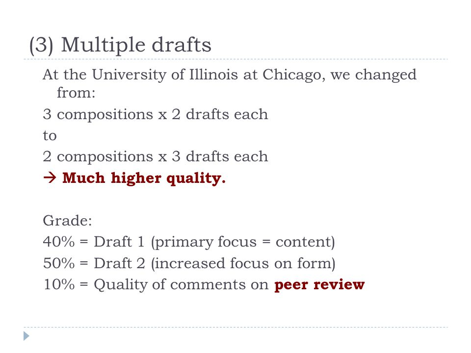 Peer review Very specific questions.