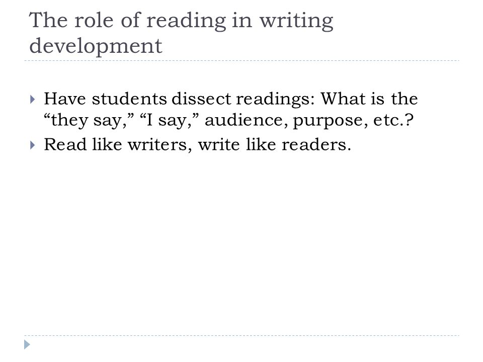 Towards building a research base What can classroom-based research on HS writing development look like.