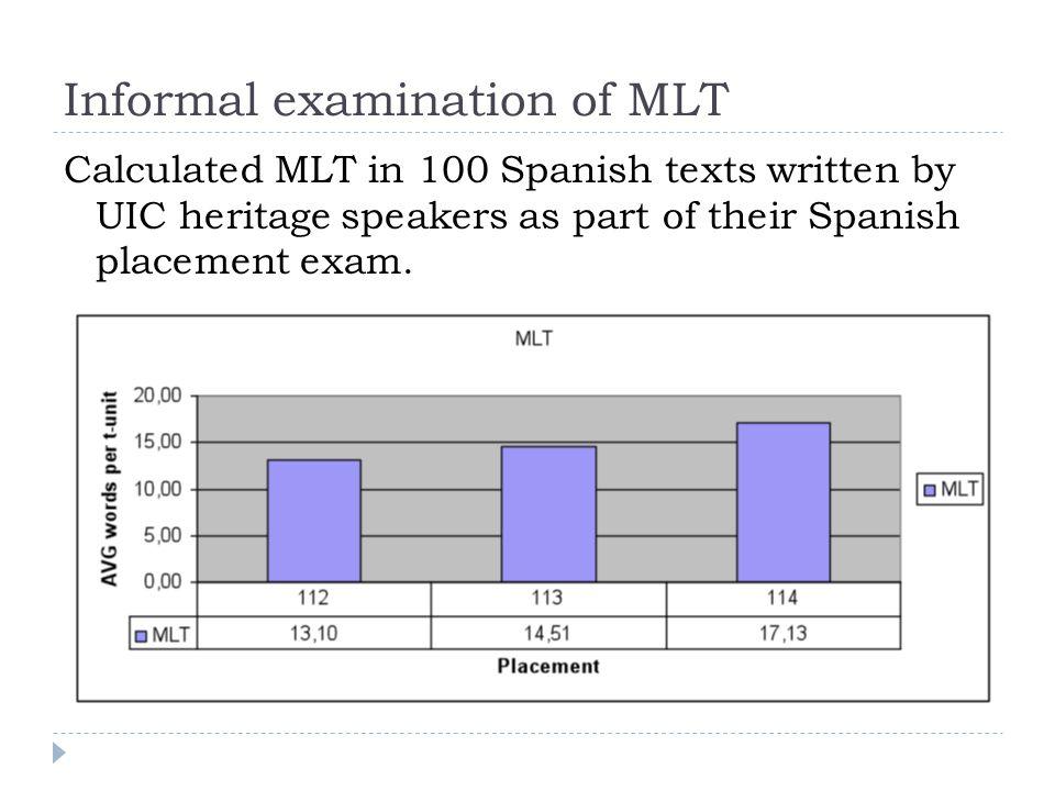 Experimental idea: Explicit instruction on how to combine sentences for longer MLTs?