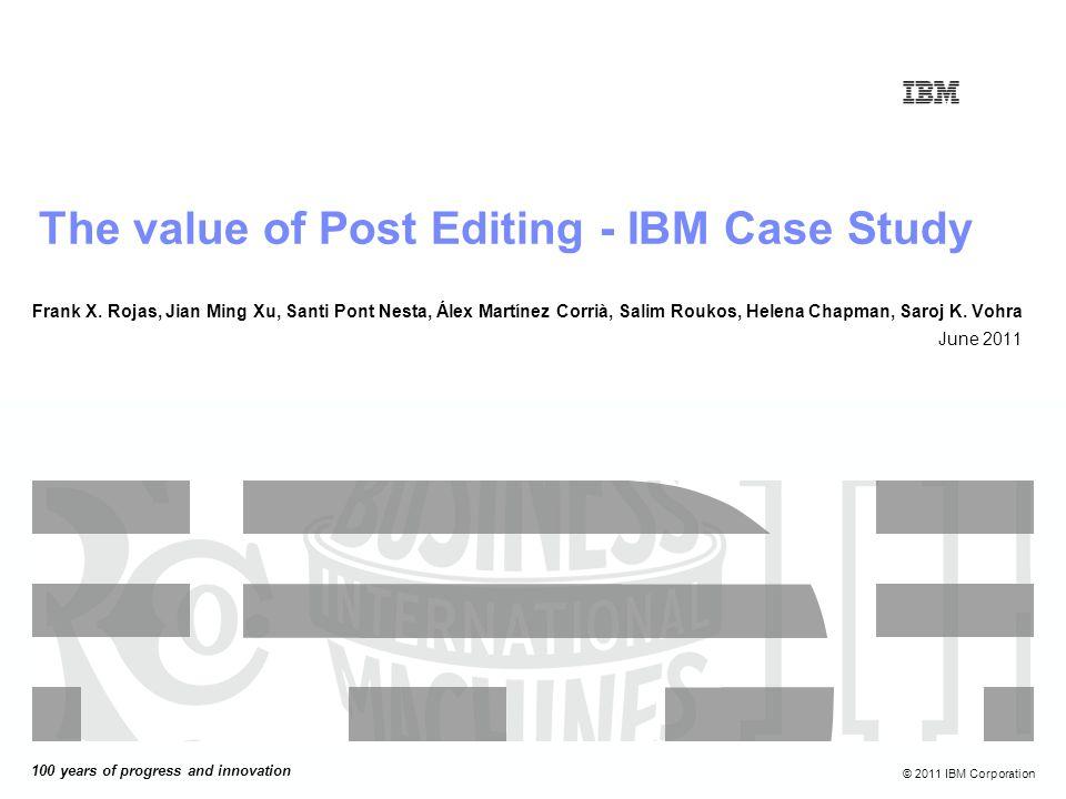 © 2011 IBM Corporation1218-sept.-08 Xxx xxx xx xxx xxx xxx.