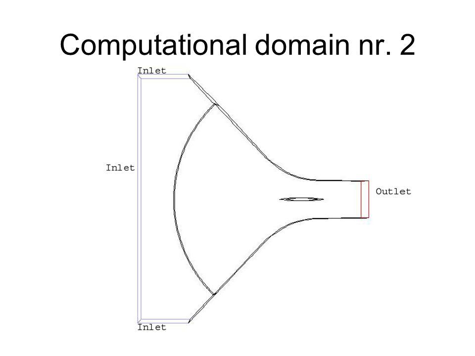 Computational domain nr. 2