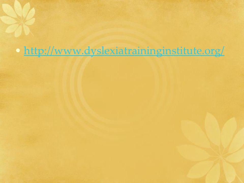 http://www.dyslexiatraininginstitute.org/