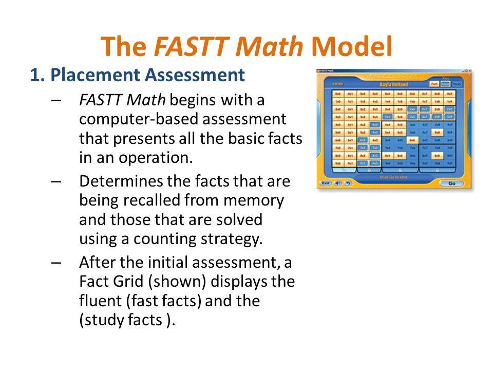 Implementation Training December 10, Goal: Develop Math Fact Fluency ...