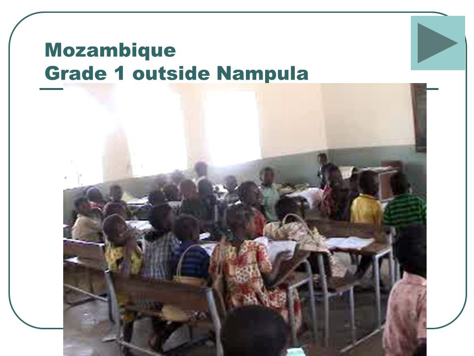 Mozambique Grade 1 outside Nampula