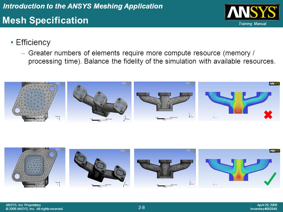 Introduction to the ANSYS Meshing Application 2-19 ANSYS, Inc.