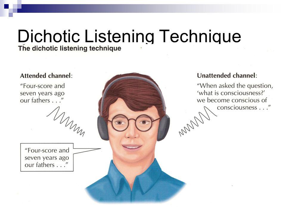 Dichotic Listening Technique