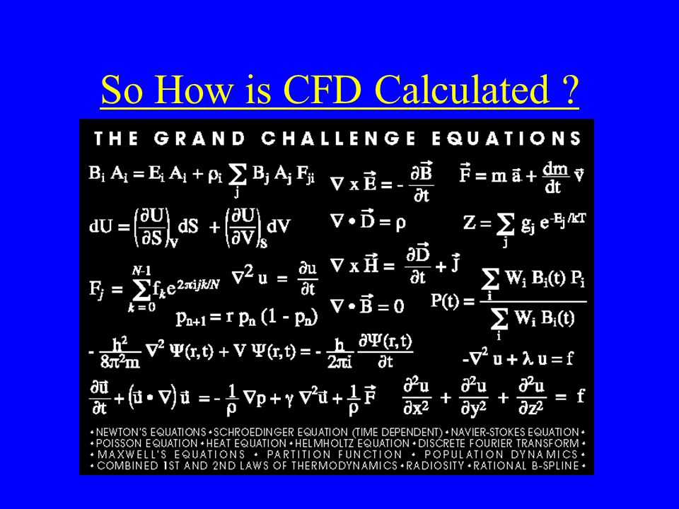So How is CFD Calculated