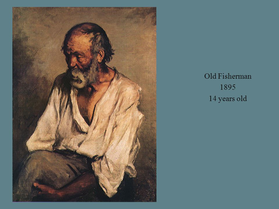 Old Fisherman 1895 14 years old