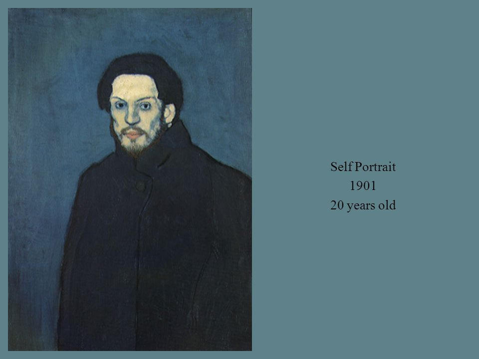 Self Portrait 1901 20 years old