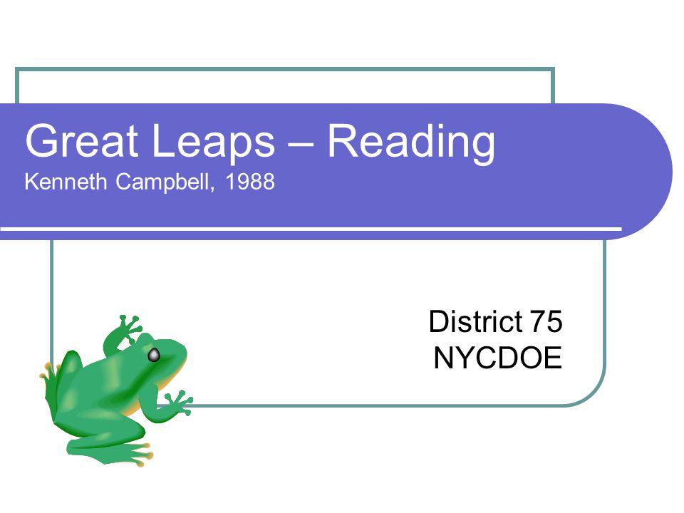 Strategies for Building Fluency Model good oral reading.