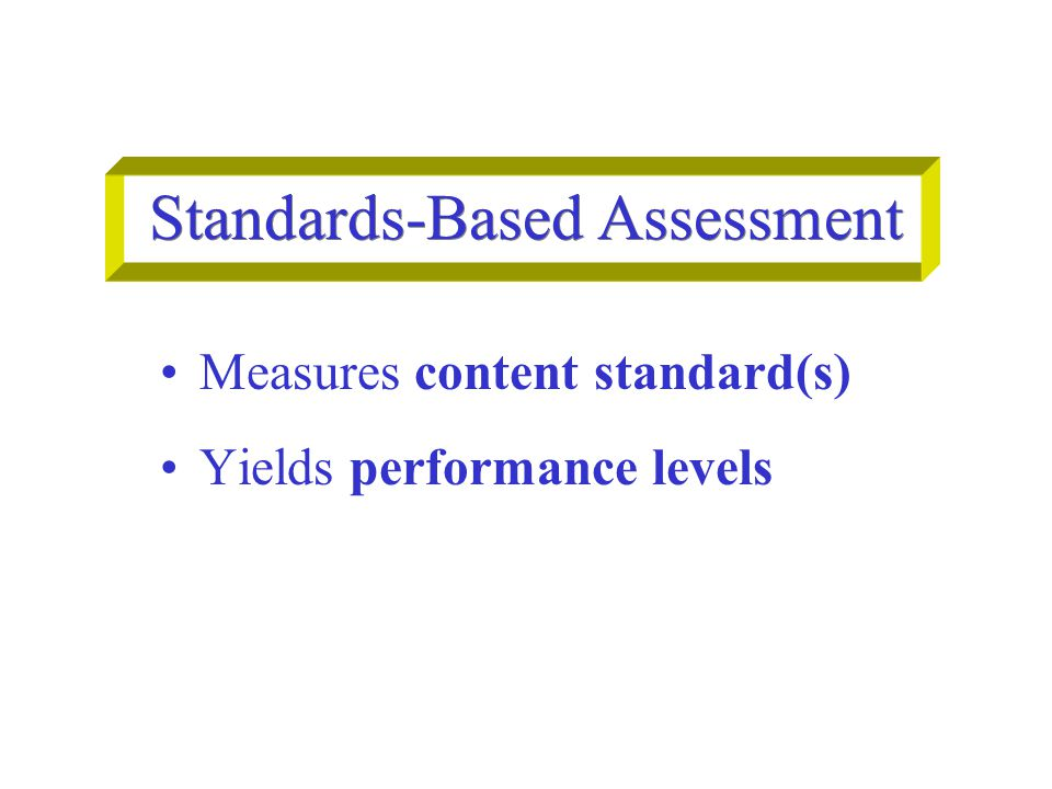 Mainstream Classroom in a Standards-Based District Reasonably Fluent ELs learn grade level content standards with ELD/SDAIE Instruction primarily on ELA standards  assess ELA standards Instruction primarily on ELD standards  assess ELD standards