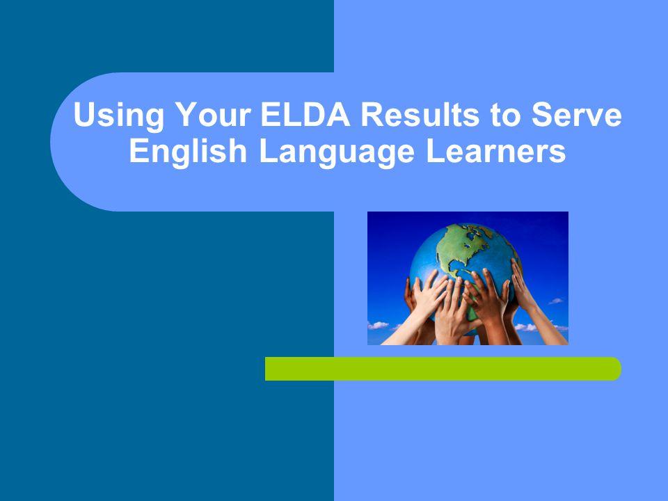 Composite Proficiency Levels Iowa ELDA