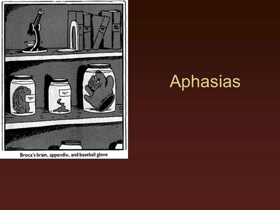 Aphasias