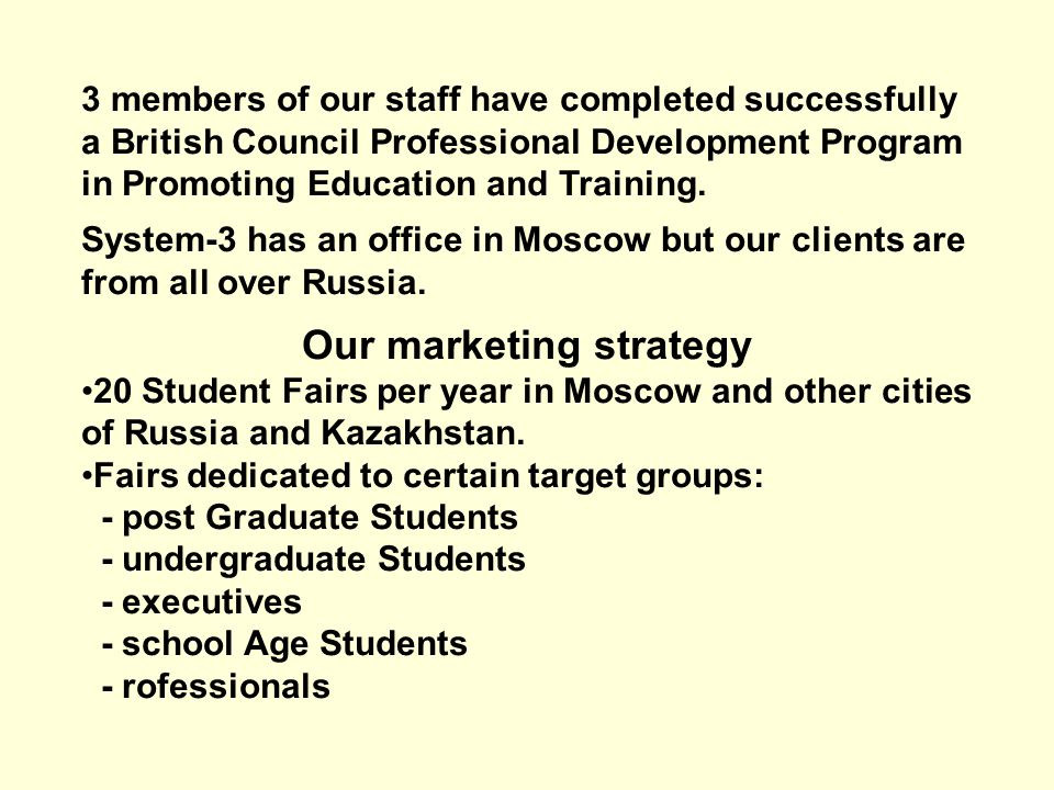3 members of our staff have completed successfully a British Council Professional Development Program in Promoting Education and Training.