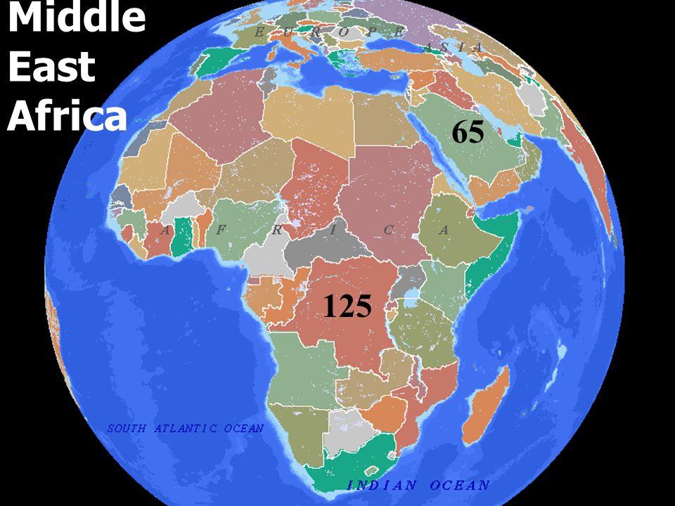 Mexico, CCA & Latin America 120 175 40