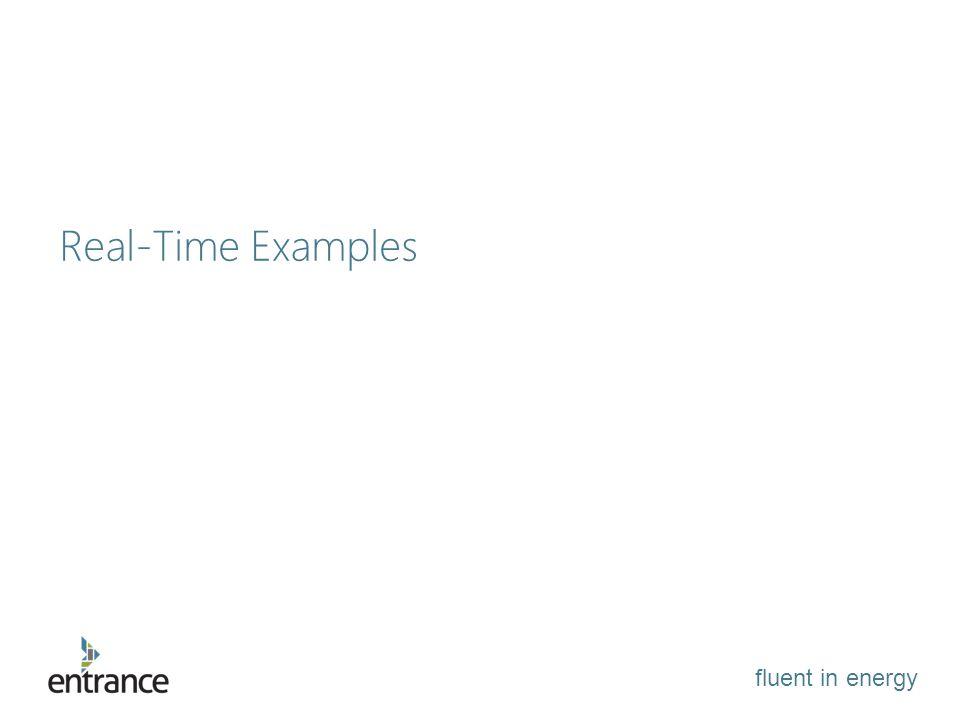 fluent in energy Real-Time Examples