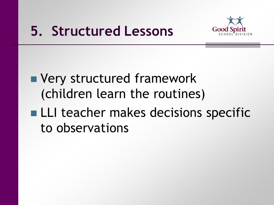 Even Numbered Lessons Rereading Books and Assessment – 5 minutes Phonics/Word Work - 5 minutes Writing about Reading – 15 minutes New Book – 5 minutes Optional Letter Word Work – no time specified