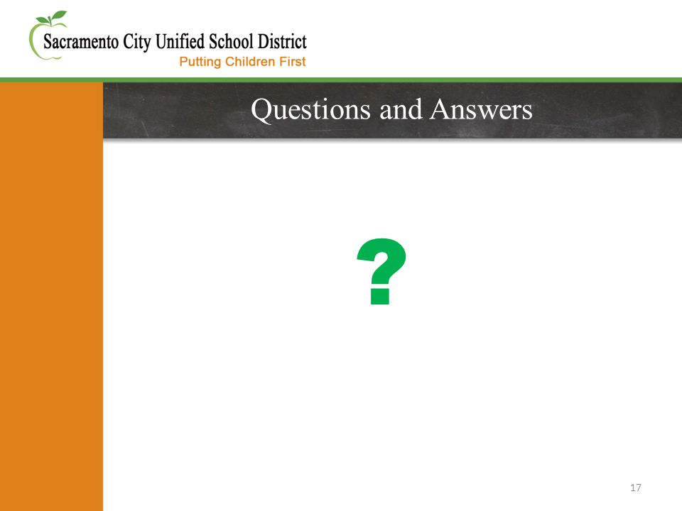 Questions and Answers 17
