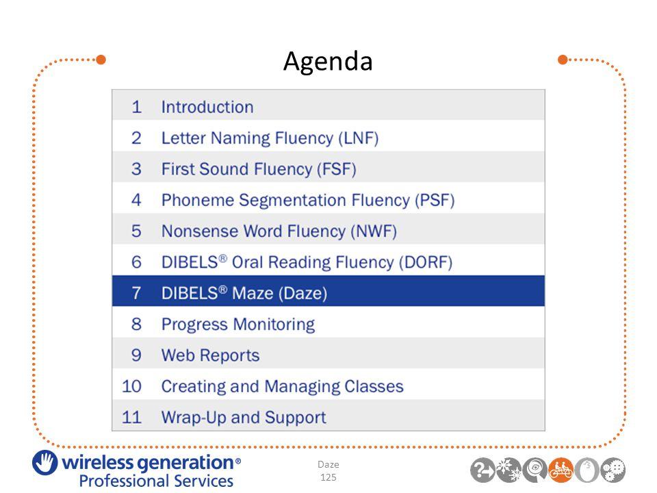 Agenda Daze 125
