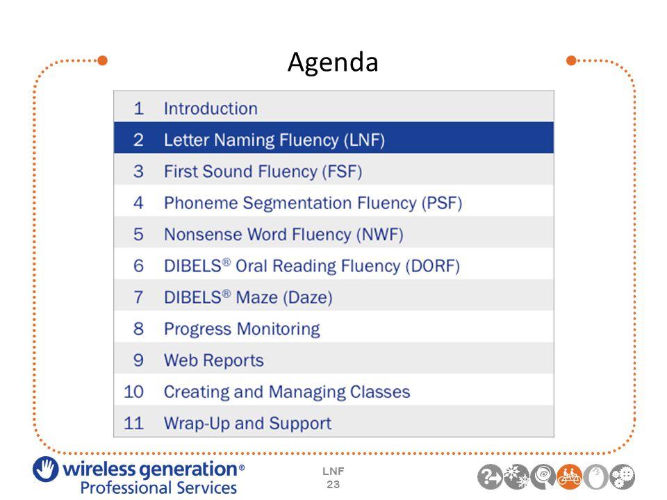 Agenda LNF 23