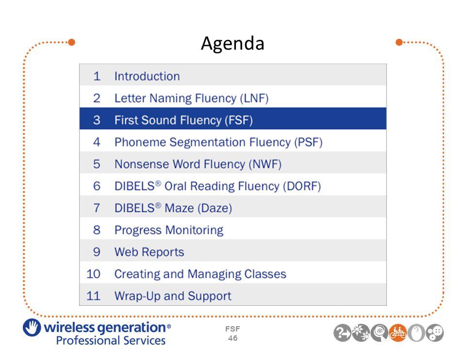 Agenda FSF 46