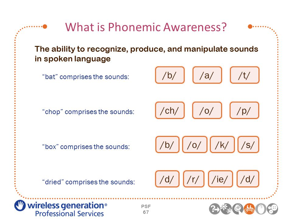 What is Phonemic Awareness.