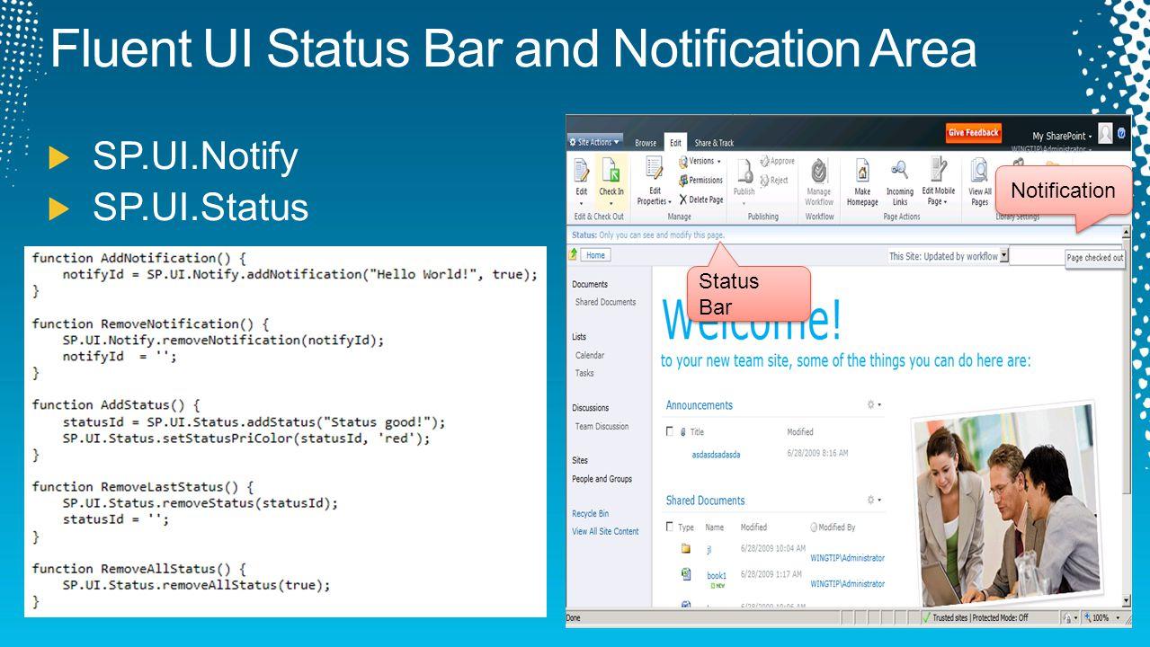Status Bar Notification