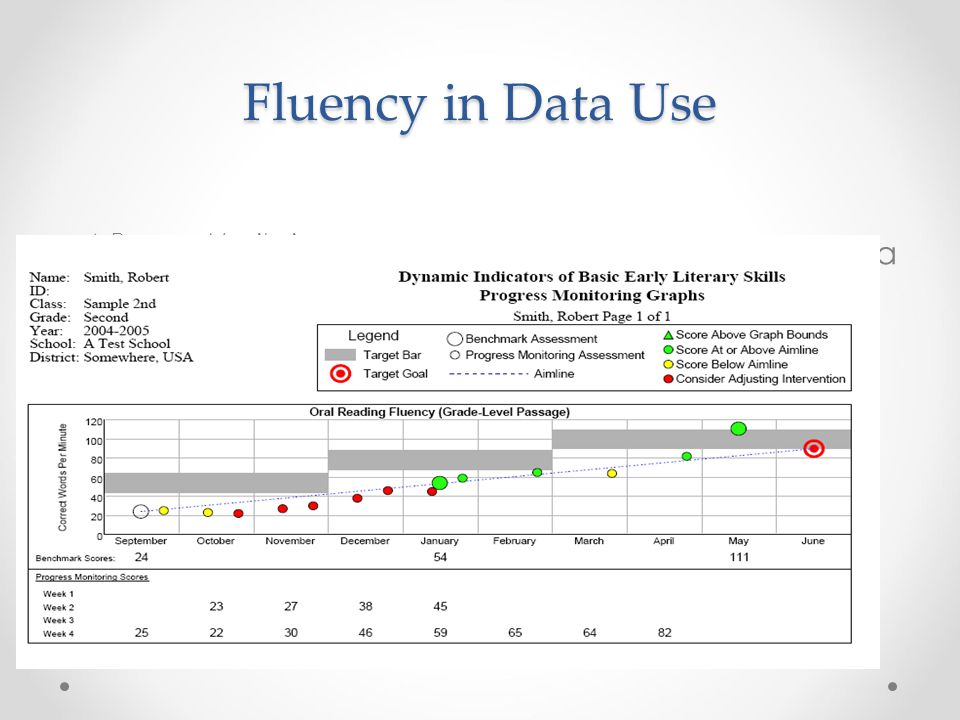 Fluency in Data Use 4.