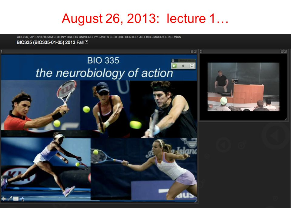 August 26, 2013: lecture 1…