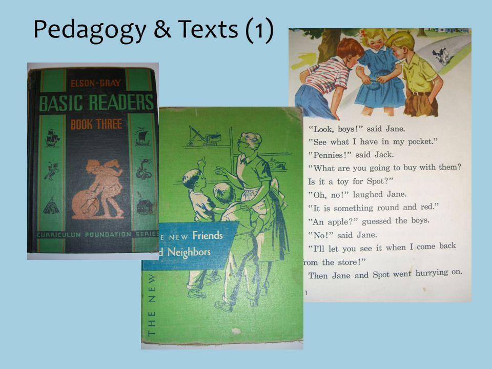 Pedagogy & Texts (1)