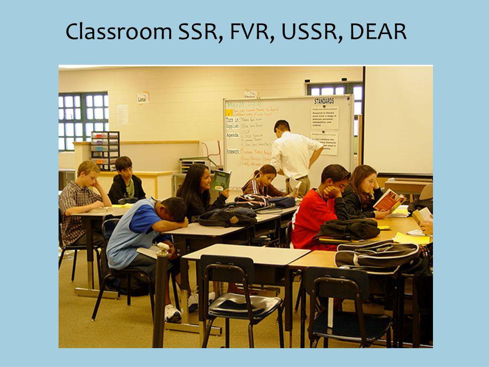 Classroom SSR, FVR, USSR, DEAR