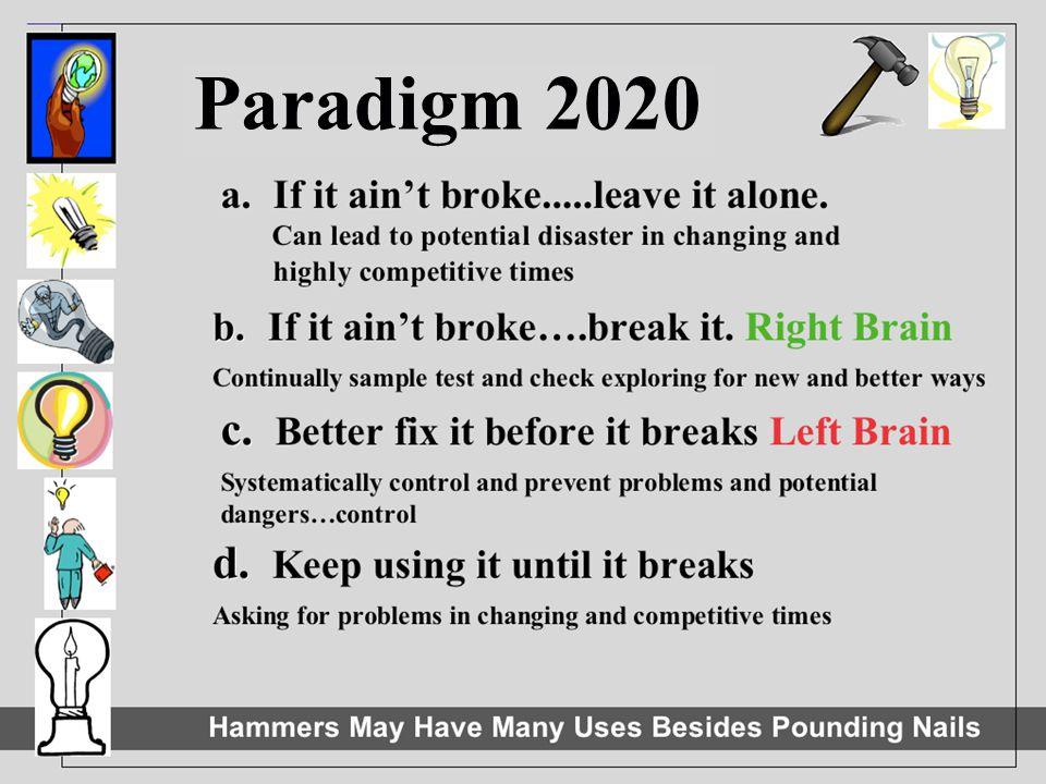 Paradigm 2020