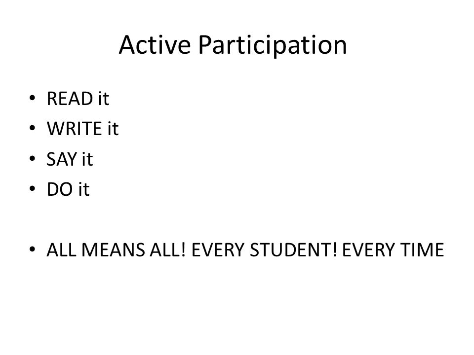 1: Structure Active Learning in the Classroom 1