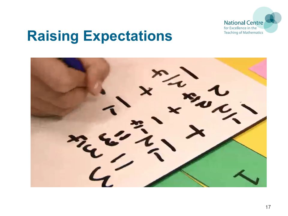 Raising Expectations 17