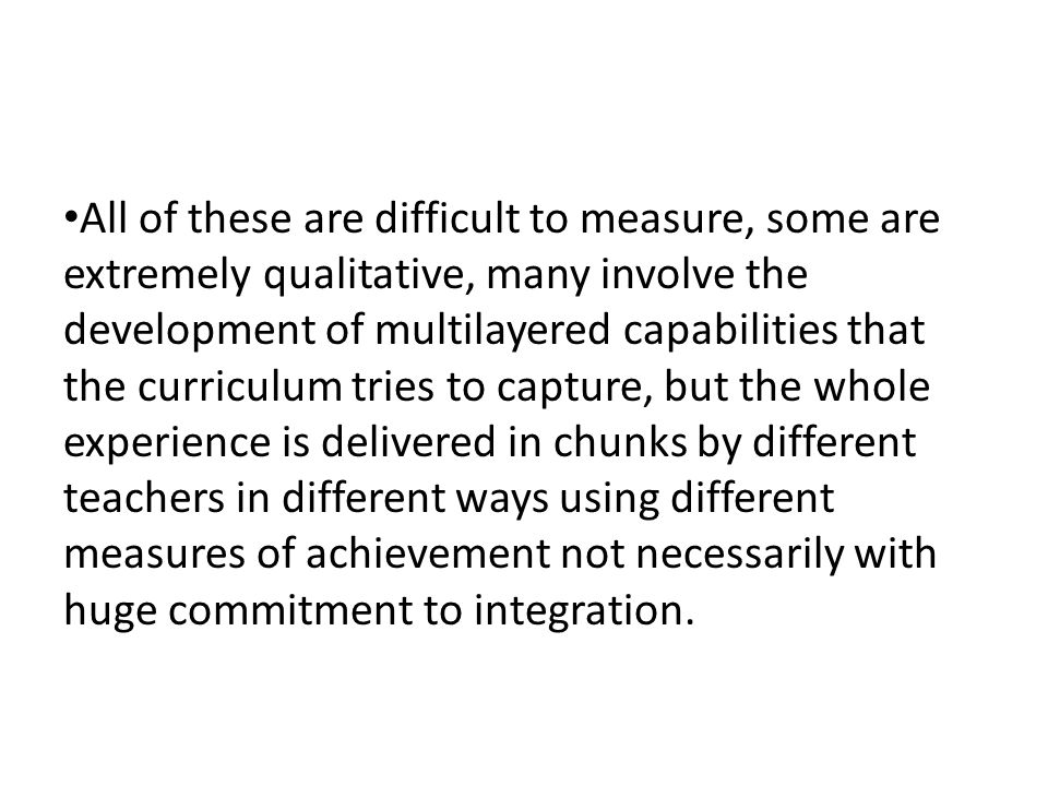 Typical proxies for teaching and learning quality in the face of this complexity and fragmentation Retention, persistence, progression Award classification Employment rates/ progression to further study Qualifications of teachers, class size All useful but not as ends in themselves