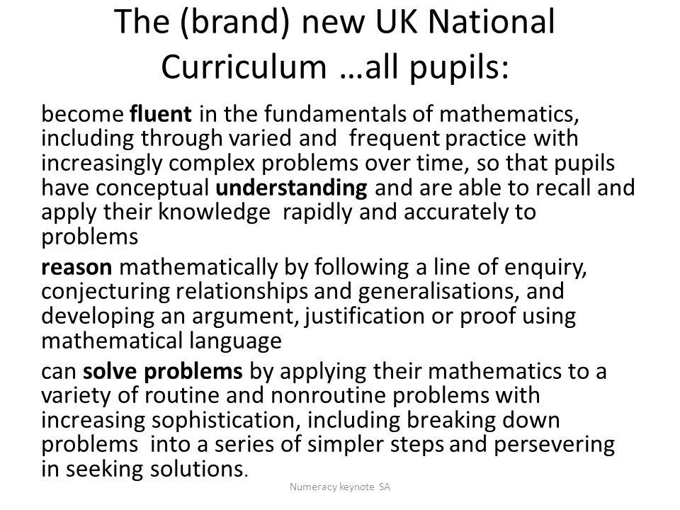https://www.education.gov.uk/schools/teachi ngandlearning/curriculum/nationalcurriculum 2014/a00220610/draft-pos-ks4-english- maths-science https://www.education.gov.uk/schools/teachi ngandlearning/curriculum/nationalcurriculum 2014/a00220610/draft-pos-ks4-english- maths-science Numeracy keynote SA