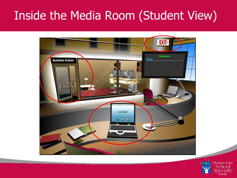 Inside the Media Room (Student View)