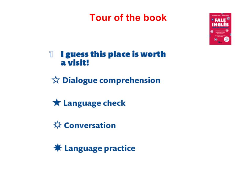 Tour of the book