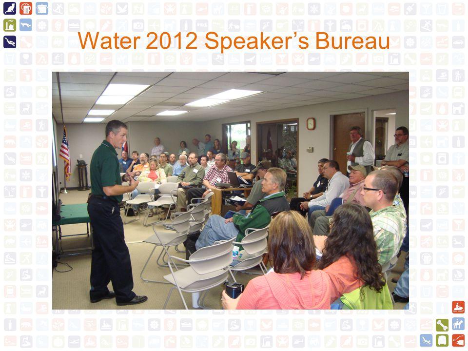 Water 2012 Speaker's Bureau