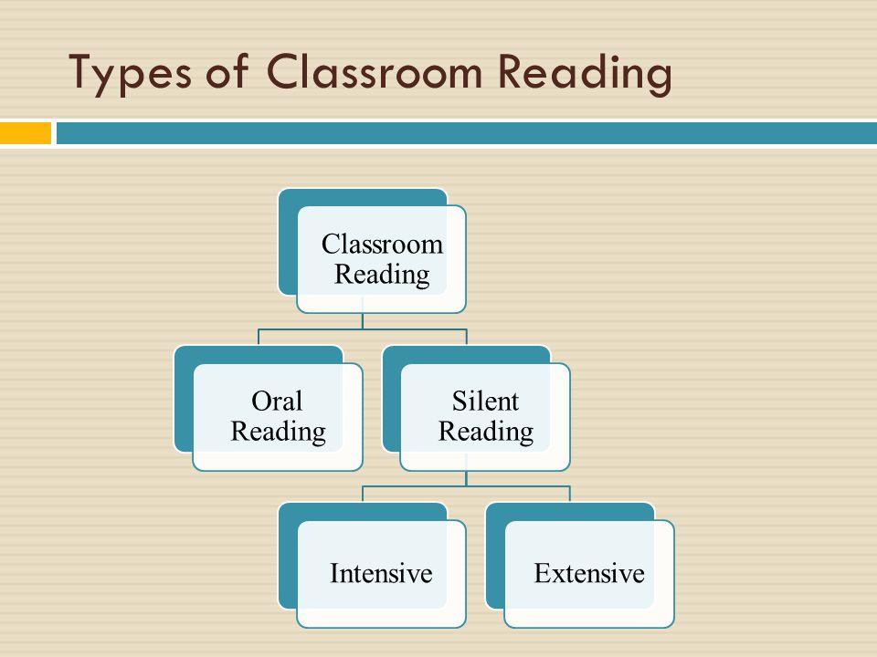 Types of Classroom Reading