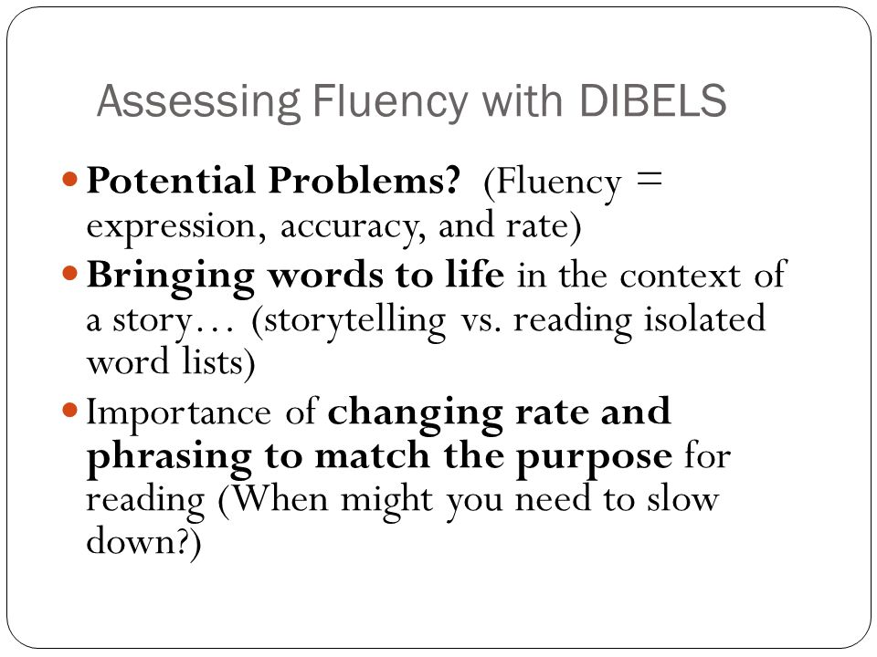 How can we help children monitor and improve their fluency.