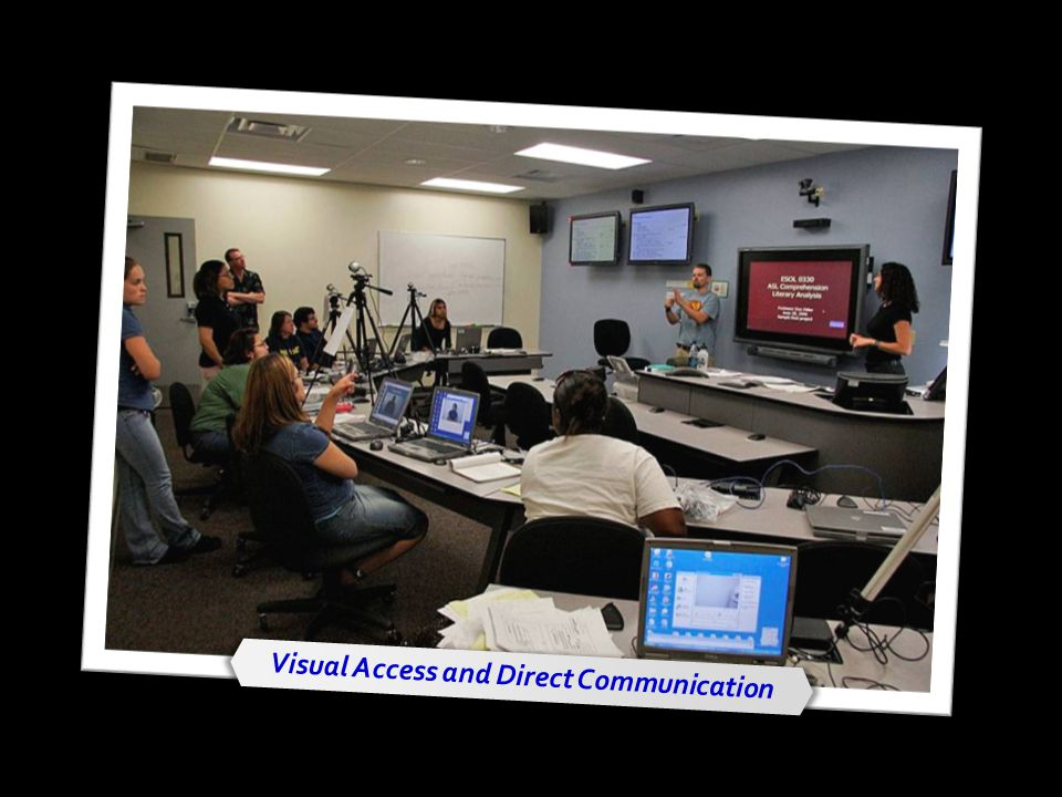 Visual Access and Direct Communication
