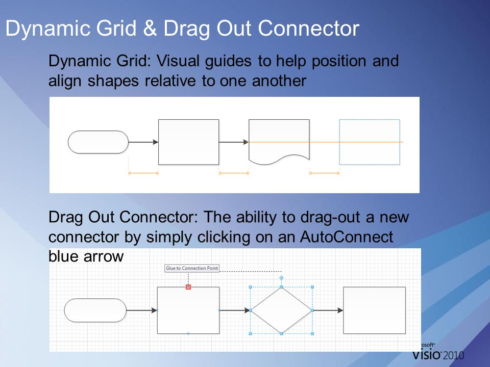 Dynamic Grid & Drag Out Connector